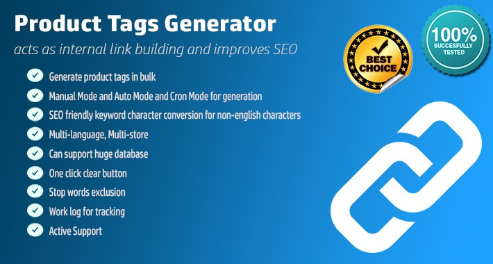 opencart 标签tag批量生成插件Product Tags Generator PRO